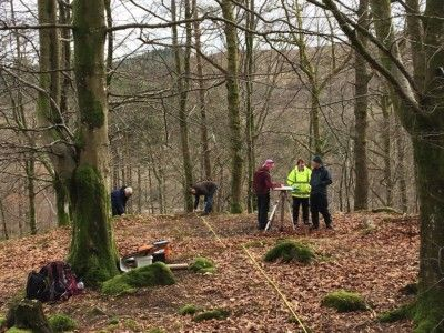leny-woods-community-archaeology-project-measured-survey-march-2019