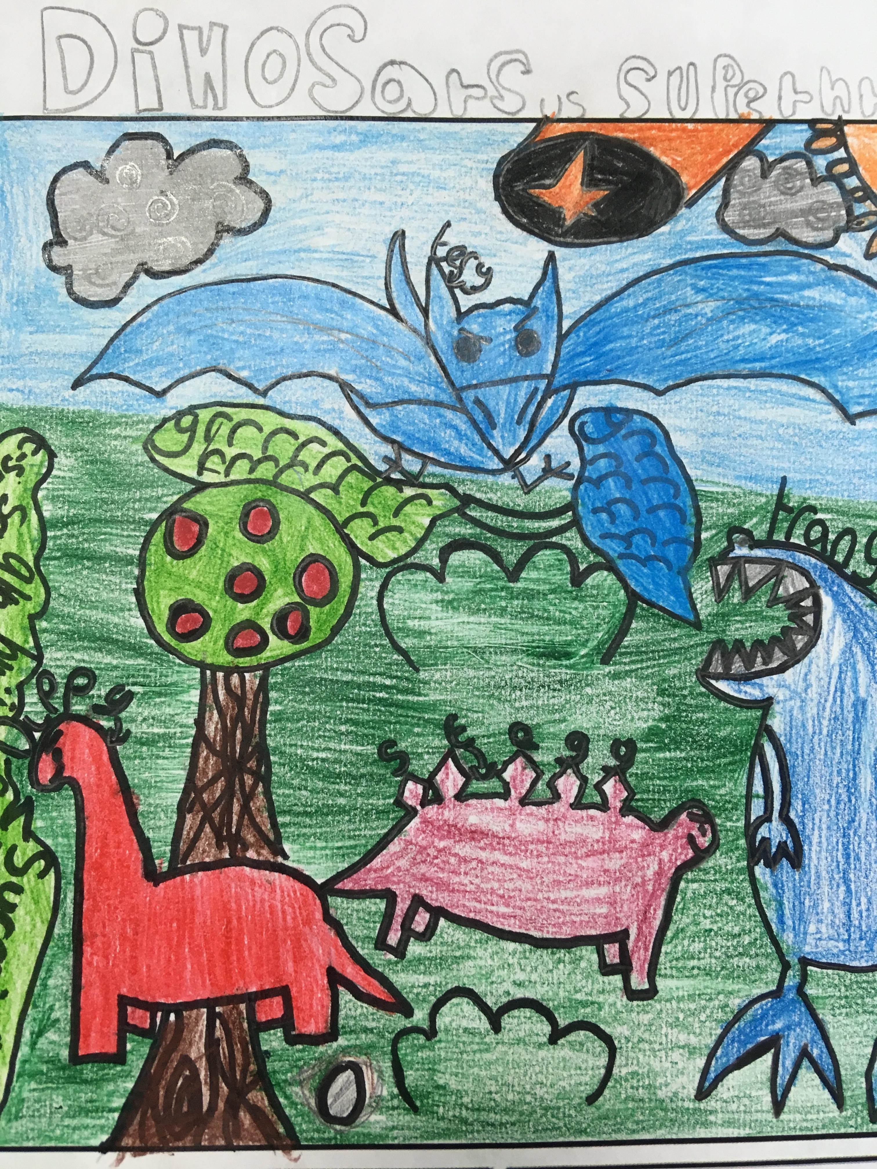 comic-dinosaurs-drawn-by-a-pupil