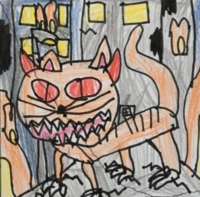 a-demonic-cat-drawn-by-a-pupil